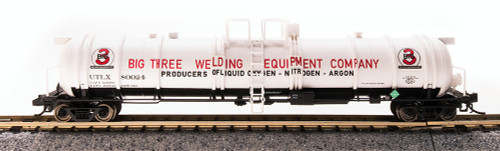 Broadway Limited Imports N 3729 Cryogenic Tank Car, Big Three Industries #80023