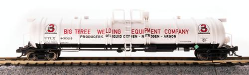 Broadway Limited Imports N 3729 Cryogenic Tank Car, Big Three Industries #80023