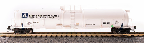 Broadway Limited Imports N 3732 Cryogenic Tank Car, Liquid Air Corp. #80074