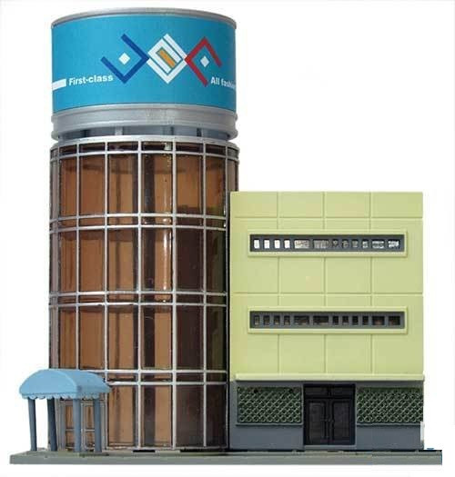 Tomix (TomyTec) N 293743 Contemporary Office Tower Kit
