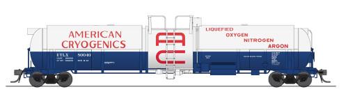 Broadway Limited Imports HO 6160 Cryogenic Tank Car, American Cryogenics