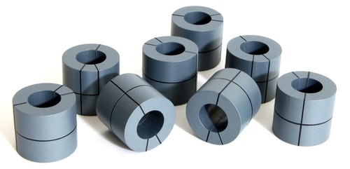 "Tangent Scale Models HO 205 60"" Banded Steel Coils (8)"