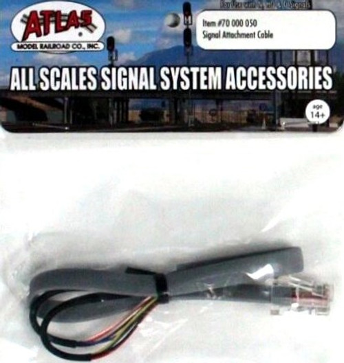 Atlas 70000050 Signal Attachment Cable for All Scales