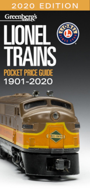 Kalmbach Publishing Softcover Book 108720 2020 Edition Greenberg's Lionel Trains Pocket Price Guide, 1901-2020