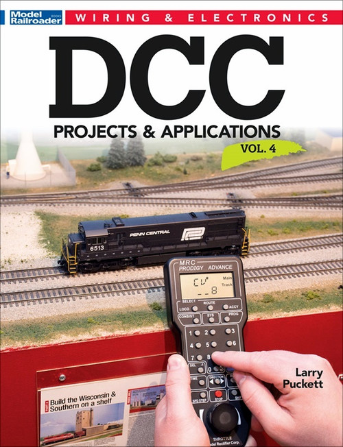 Kalmbach Publishing Softcover Book 12816 DCC Projects and Applications Vol. 4