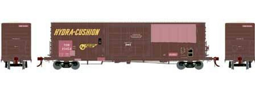 Athearn Genesis HO G69395 50' PC&F SS Box Car with 14' Plug Door, SSW (Patch) #23491