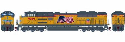 Athearn Genesis HO G89845 SD70ACe (SD70AH), Union Pacific #9096 (DCC and Sound Equipped)