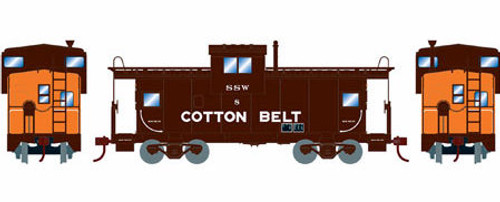 Roundhouse HO 90154 Wide Vision Caboose, Cotton Belt (SSW) #8