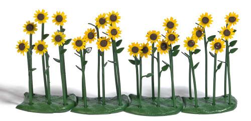 Busch HO 1240 Sunflowers (24)