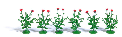 Busch HO 1248 Poppy Plants