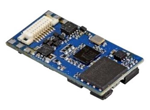 "ESU 58816 LokSound 5 Micro DCC/MM/SX/M4 ""Blank Decoder"", 6-Pin NEM651 with Speaker 11x15mm"