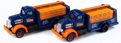 Classic Metal Works N 50397 White WC Beverage Bottle Delivery Truck, Vess Beverage Whistle