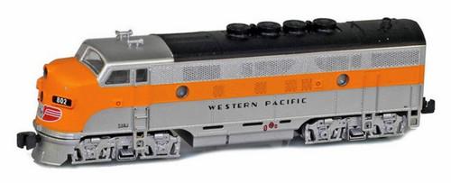 American Z Line Z 62916-2 F3A Phase II California Zephyr, Western Pacific #801C