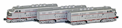 American Z Line Z 62917-1 F3A/B-FRA Phase II California Zephyr Set, Chicago Burlington and Quincy #9960A/9960B/9960C