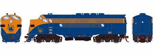 Athearn Genesis HO G22756 F3A, Central of New Jersey (Freight) Unnumbered