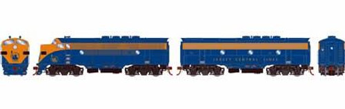 Athearn Genesis HO G22848 F3 A/B, Central of New Jersey (Freight) #53/B (DCC and Sound Equipped)