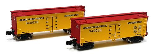 Full Throttle Z FT9021-1 34' Woodside Reefer Set #1, Grand Trunk Pacific (2-Pack)