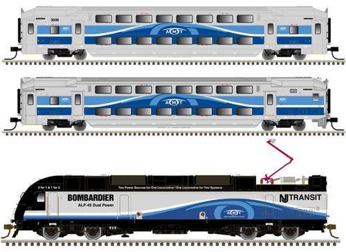 Atlas Master Line N 50004406 Modern Commuter Train Set, AMT