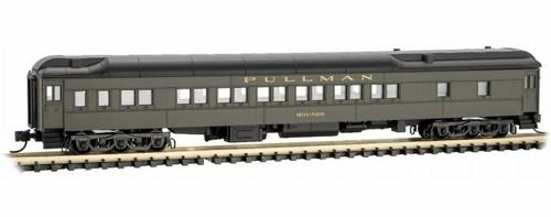"Micro-Trains N 14200110 12-1 Heavyweight Sleeper Car, New York Central ""Mounds"""