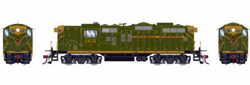 Athearn Genesis HO G62850 GP9, Canadian National #4418