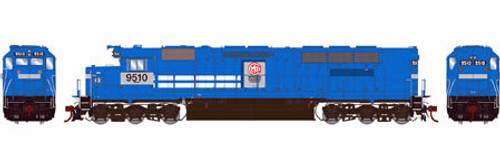 Athearn Genesis HO G63687 SDP45, MKCX #9510 (DCC and Sound Equipped)