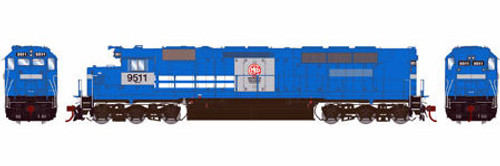 Athearn Genesis HO G63688 SDP45, MKCX #9511 (DCC and Sound Equipped)