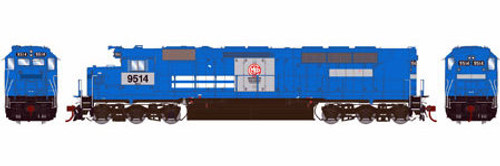 Athearn Genesis HO G63689 SDP45, MKCX #9514 (DCC and Sound Equipped)