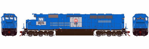 Athearn Genesis HO G63690 SDP45, MKCX #9515 (DCC and Sound Equipped)