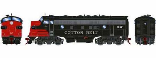 Athearn Genesis HO G12338 F7A, Cotton Belt (SSW) #947