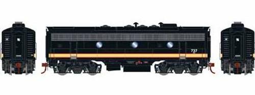 Athearn Genesis HO G12343 F7B, Burlington Northern #737