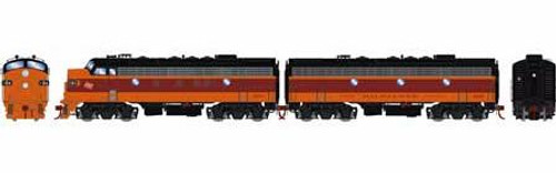 Athearn Genesis HO G12435 F7 A/B, Milwaukee Road #118A/119B (DCC and Sound Equipped)