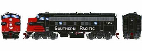 Athearn Genesis HO G12436 F7A, Southern Pacific #6378 (DCC and Sound Equipped)