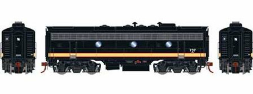 Athearn Genesis HO G12443 F7B, Burlington Northern #737 (DCC and Sound Equipped)