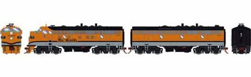 Athearn Genesis HO G12445 F9 A/B, Denver and Rio Grande Western #5771/5762 (DCC and Sound Equipped)