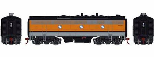 Athearn Genesis HO G12446 F9B, Denver and Rio Grande Western #5763 (DCC and Sound Equipped)