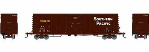 Athearn Genesis HO G26789 50' PC&F Riveted Box Car with 10' 6 Door, Southern Pacific (Small Herald) #1