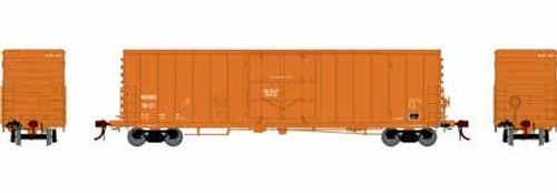 Athearn Genesis HO G26804 50' PC&F Riveted Box Car with 10' 6 Door, WCRC #10123