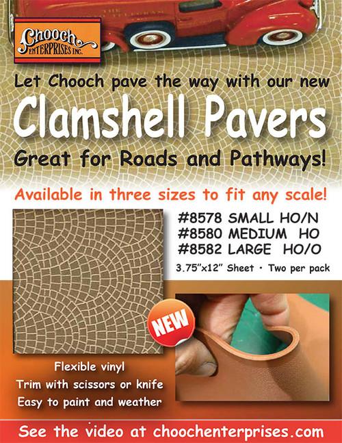Chooch HO 8580 Flexible Clamshell Road, Medium (2-Pack)