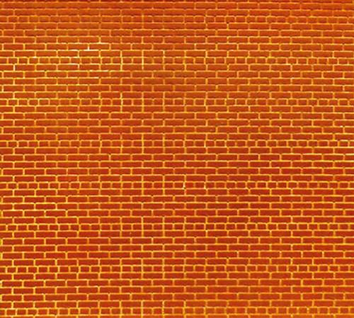 Chooch HO/N 8620 Flexible Brick Wall, Small (2-Pack)