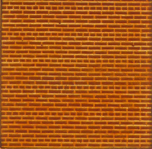 Chooch HO 8622 Flexible Brick Wall, Medium (2-Pack)