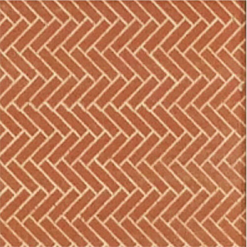 Chooch HO/O 8664 Flexible Herringbone Pavers, Large (2-Pack)