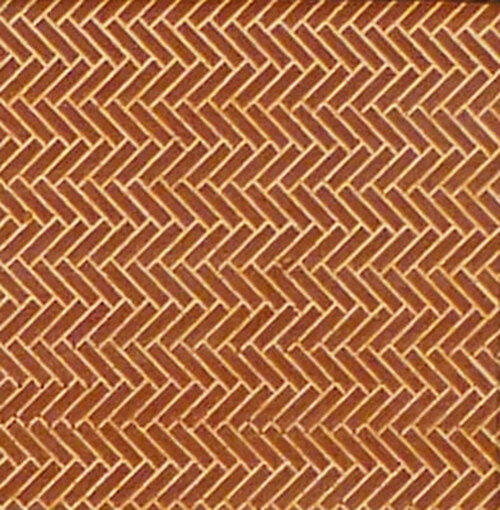 Chooch HO 8662 Flexible Herringbone Pavers, Medium (2-Pack)