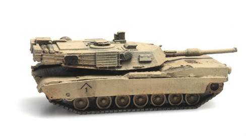 Artitec N 6160078 M1A1 Abrams Main Battle Tank Train Load Desert Scheme