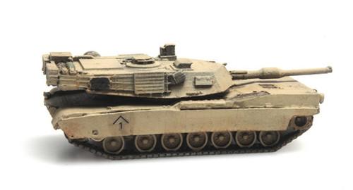 Artitec N 6160078 M1A1 Abrams Main Battle Tank Train Load Desert Scheme