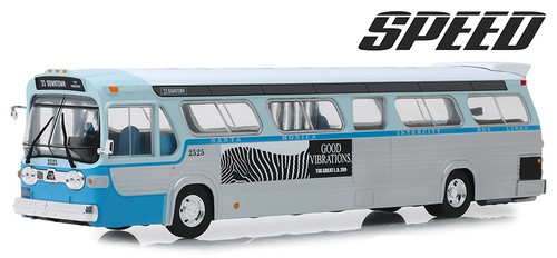 Greenlight Collectibles O 86544 1960s General Motors TDH Los Angeles California Downtown Bus, Speed (1994) #2525