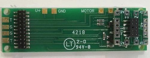 Nixtrainz HO 5 Decoder Buddy Motherboard for 21 Pin Decoder