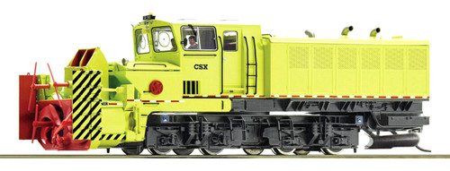 Roco HO 72803 Self-Propelled Beilhack Rotary Snow Blower, CSX (DCC Sound Decoder)