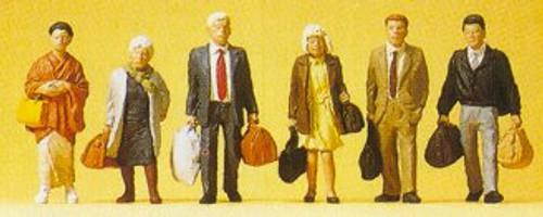 Preiser HO 10413 Foreign Travelers (6)