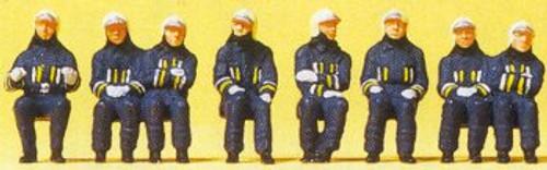 Preiser HO 10483 Firemen Driver and Crew (8)