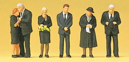 Preiser HO 10521 Funeral Attendants (6)